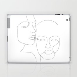 Cheek to Cheek Laptop & iPad Skin