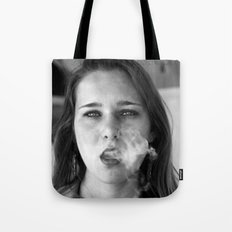 smoker and the thief  Tote Bag