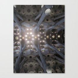 La Sagrada Familia II Canvas Print