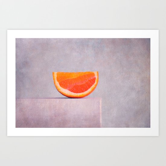 summer in orange Art Print