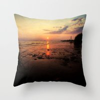 sublime Throw Pillows featuring Sublime by JMcCool