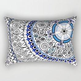 Feelin' Groovy Rectangular Pillow