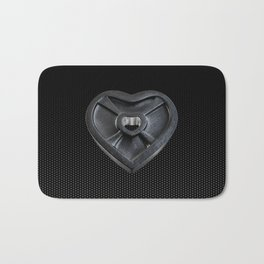 Lift With Your Heart Bath Mat