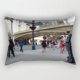 Motion at Pershing Square Rectangular Pillow