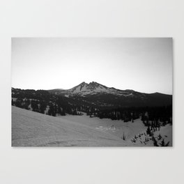 Broken Top at sunrise Canvas Print