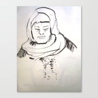 arab Canvas Prints featuring arab woman by Maureen Shirley