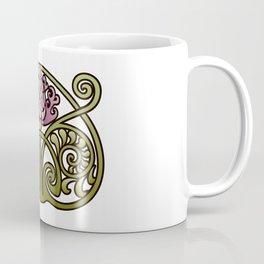 Nouveau Thistle Coffee Mug