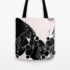 geometric_graypink Tote Bag