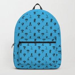 STEAMPUNK, BLUE Backpack