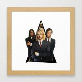 Youtriangle ∆ Nirvana Framed Art Print