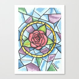 Rose Colored Glass Canvas Print