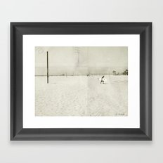 Surfing Life Framed Art Print