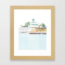 Helsinki oh Helsinki Framed Art Print