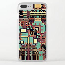 Sixty Four Clear iPhone Case