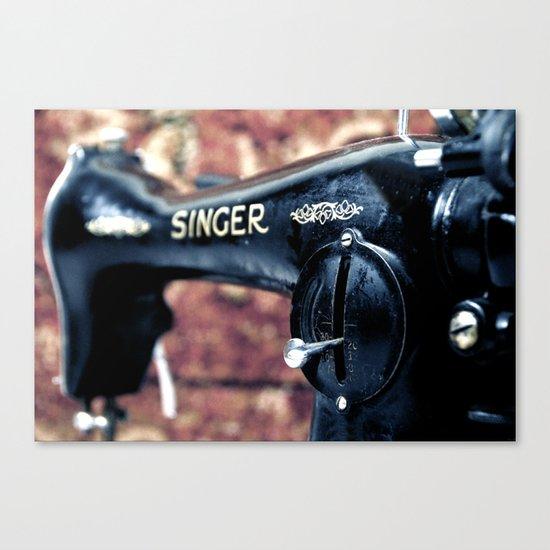 singer 1 Canvas Print