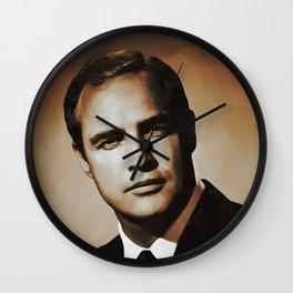 Marlon Brando, Actor Wall Clock