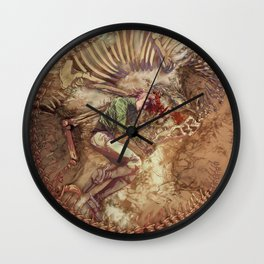 Scary Monster Wall Clock