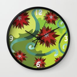 Colors of Emotions Jealousy Wall Clock