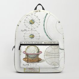 Homann Heirs Solar System Astronomical Chart Backpack