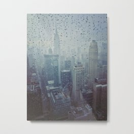 New York, I Love You Metal Print