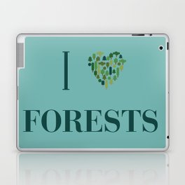 I heart Forests Laptop & iPad Skin