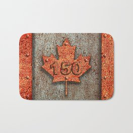 Iron Maple Leaf. Bath Mat
