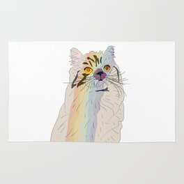 Rainbow Cat Rug
