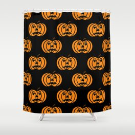 Jack O Lanterns Shower Curtain