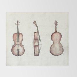 Cello Throw Blanket