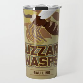 Bau Ling Buzzard Wasps Travel Mug