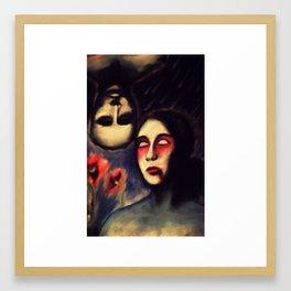 LOVE IS BLINDNESS Framed Art Print