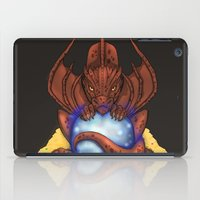 smaug iPad Cases featuring Smaug by YattaGiulia