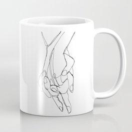 One Line Love Coffee Mug