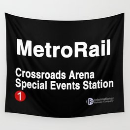 Crossroads Arena Special Events Station Wall Tapestry