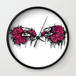 If I Could hide your eyes  Wall Clock