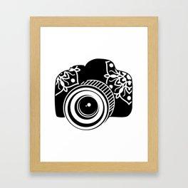 Camera Design Framed Art Print
