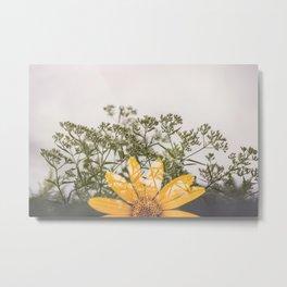 Flora in the Fall Metal Print
