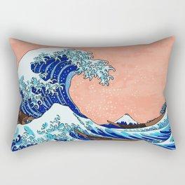 The Great Wave of Kanagawa Rectangular Pillow