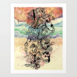 Zine Art Print