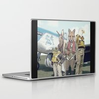 starfox Laptop & iPad Skins featuring SKYFOX (The Starfox Prequel). by John Medbury (LAZY J Studios)