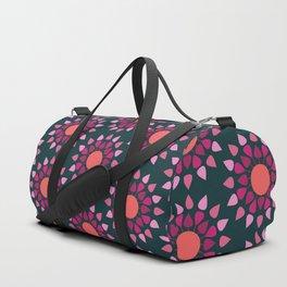 MCM Hydrangea Duffle Bag