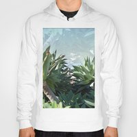 palm Hoodies featuring Palm by Danny T
