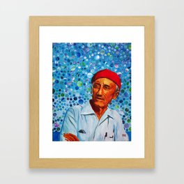 Jacques Cousteau Framed Art Print