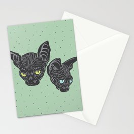 Odessa & Azizi Stationery Cards