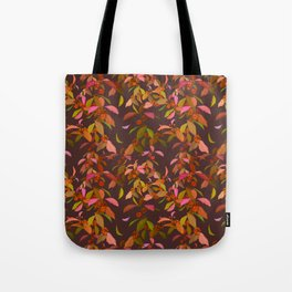 Beautyberry on Purple Tote Bag