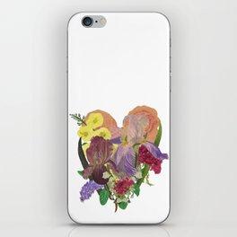 Tender Heart Bouquet iPhone Skin
