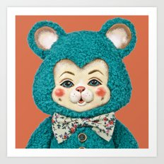 Bitsy the Bear Art Print