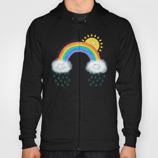 Somewhere over the rainbow... Hoody