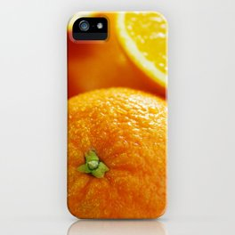 Fresh Orange for the Kitchen iPhone Case