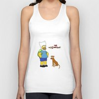 simpsons Tank Tops featuring The simpsons Time by Lexatchison